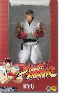 Street Fighter Ryu Rotocast Neca 30cm De Alto Con Ropa Tela
