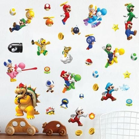Kit Adesivo Super Mario World
