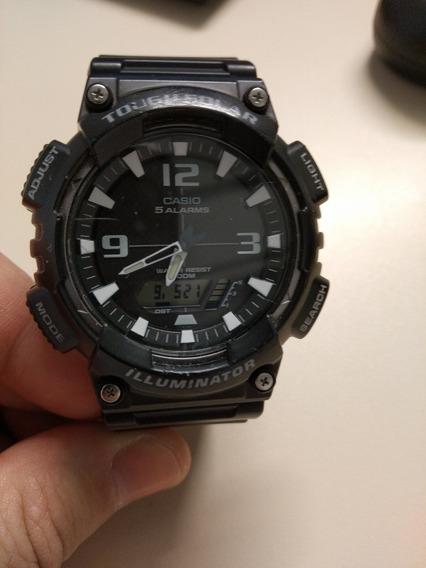 Relógio Casio Tough Solar Aq-s810w