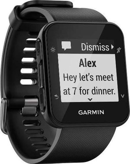 Smartwatch Gps Garmin Forerunner 35 Preto Calorias Ciclismo
