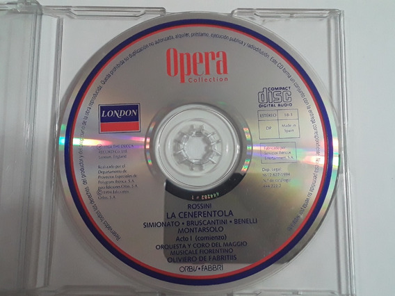 Opera Collection Rossini La Cenerentola Acto 1