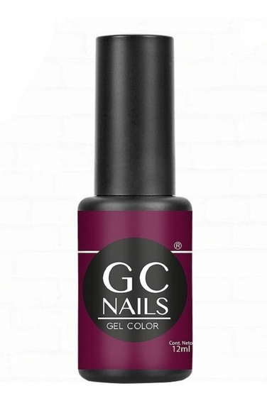 Gel De Color 21 Días Gc Nails, 95 Colores Distintos A Elegir