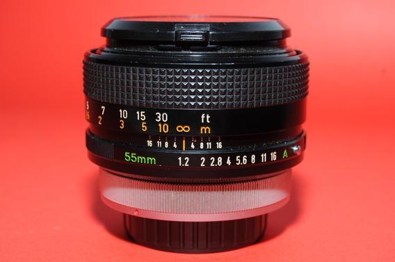 Canon Fd S.s.c 55mm F:1.2 Sony Nex