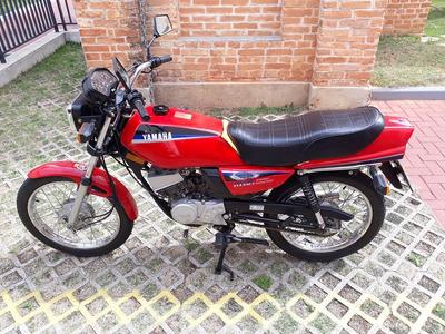 Yamaha Rd 125 - Placa Preta