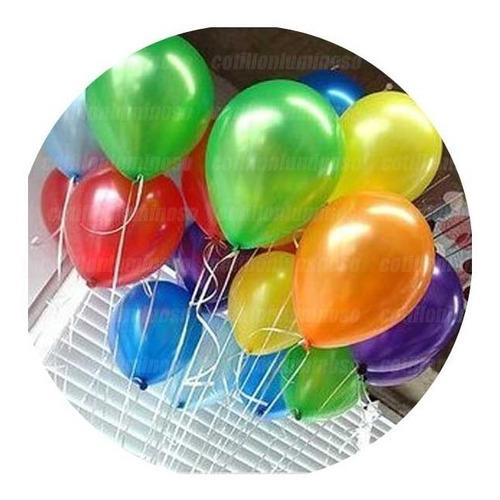 25 Globos Perlados Colores Surtidos 12 Pulgadas Fiesta 15