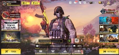 Cuenta De Call Of Duty Mobil Activision