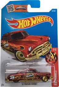 2016 Hot Wheels Super T-hunt Hornet Hudson - Cartela Ruim