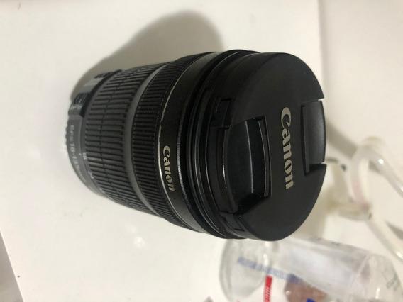 Lente Canon 18-135mm Semi-nova
