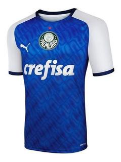 Camisa Palmeiras 2019 Goleiro Torcedor Vermelha Ou Azul
