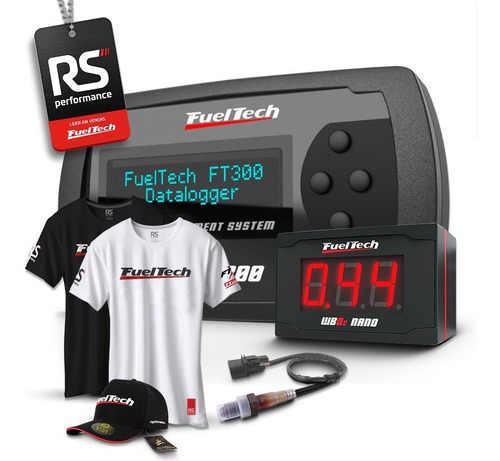 Fueltech Ft300 Chicote 3m + Wide Band Nano 2m C/ Sonda