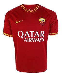 Camisa Do Roma 2019/2020 Italiano Oficial - Mega Desconto