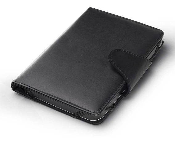 Capa E Suporte Multilaser Para Tablet De 8 Preto - Bo183