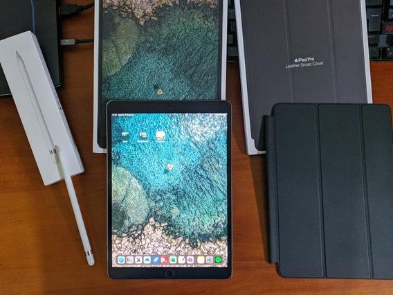 iPad Pro 10.5 64gb Space Gray + Apple Pencil + Smart Cover