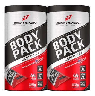 2x Pak Body Pack Explosive - 44 Packs - Body Action Original