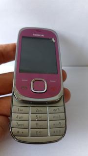 Nokia 7230c Slip Nacional Novo Cor Rosa 3g Desbloqueado