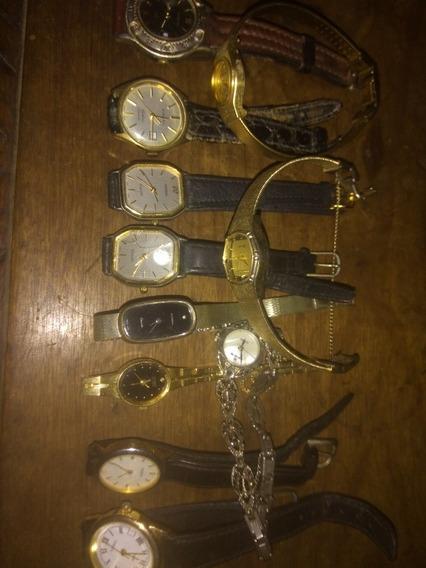 Relógios Pulso Feminino 12 Exemplares A Quartz