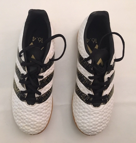 Chuteira Futsal Masculino adidas Ace 16.4 In - Branco/preto/