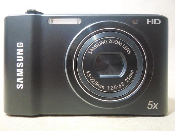 Máquina Câmera Digital Samsung St66 St 66 Preta 16.1 - Usada