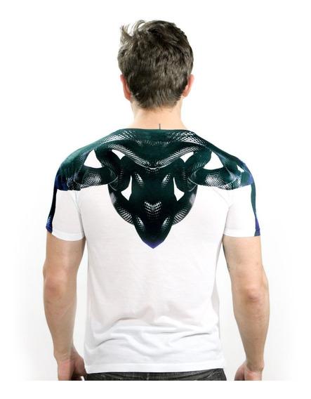 Camiseta Masculina Estampada Caveira Vários Modelos