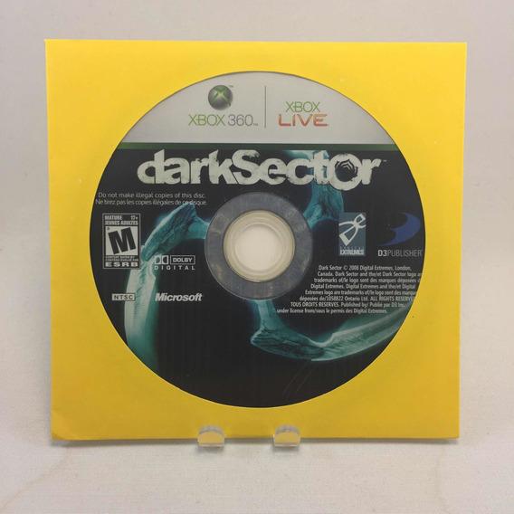 Jogo Dark Sector - Xbox 360 Original - Somente O Disco