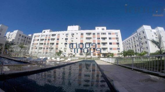 Apartamento Com 2 Dormitórios Para Alugar, 45 M² Por R$ 800,00 - Maraponga - Fortaleza/ce - Ap0856