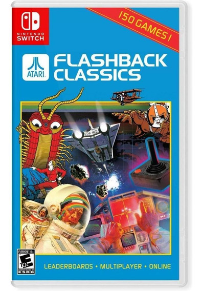 Atari Flashback Classics Switch Mídia Física Novo Original