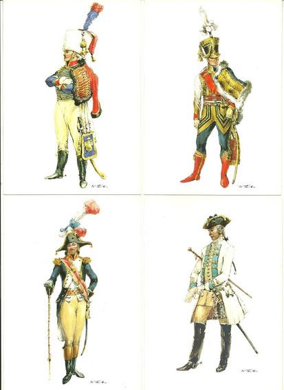 Alemania 14 Postales Militares Año 1810