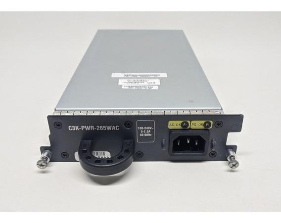 Fonte Cisco C3k-pwr-265wac Catalyst 3750-e 3560-e + Frete