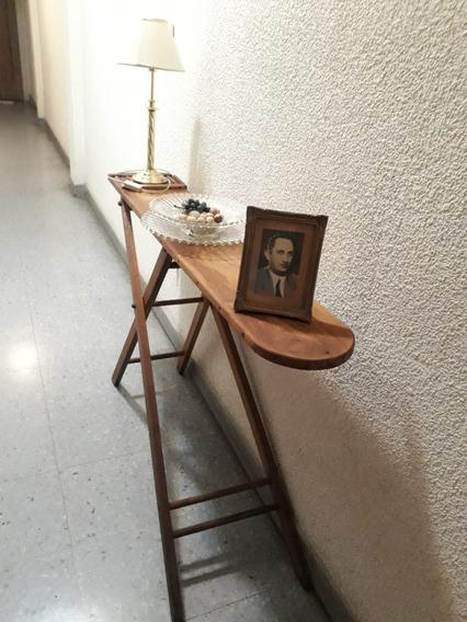 Tabla Planchar Antigua Madera Macisa Deco Vintage Retro Mesa