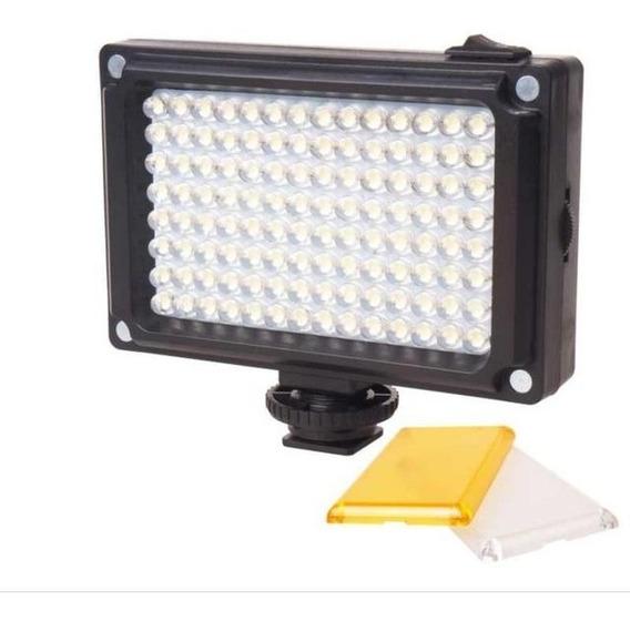 Iluminador Luz De Led 96 Video Para Câmera Profissional Dslr