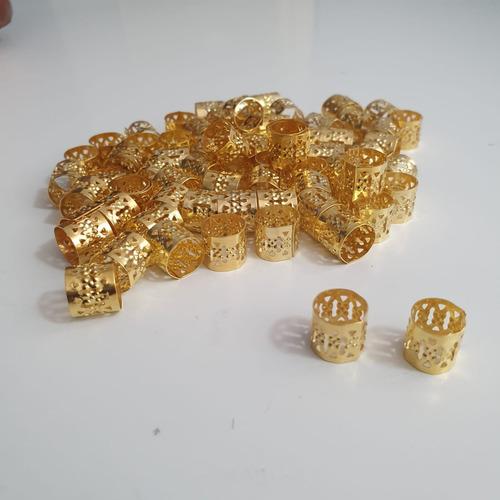 50x - Anel Anéis De Trança Box Braid / Dread Afro