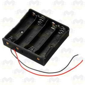 Suporte Case Caixa Porta 4 Baterias 18650 Arduino Esp8266