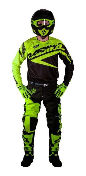 Jersey Motocross Radikal Mx Fluo