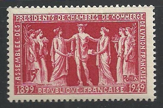 1949 Francia Asamblea D Presidentes Cámara D Comercio Mnh