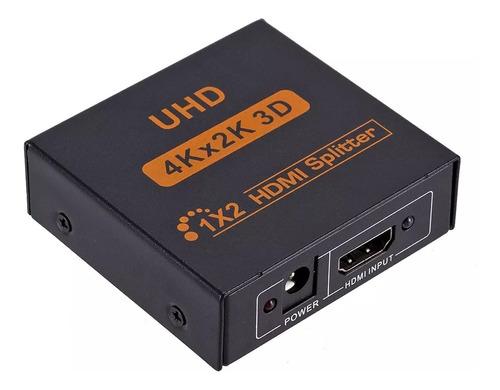 Splitter Hdmi 1 X 2 Alta Definición 1920x108p/3d /4k