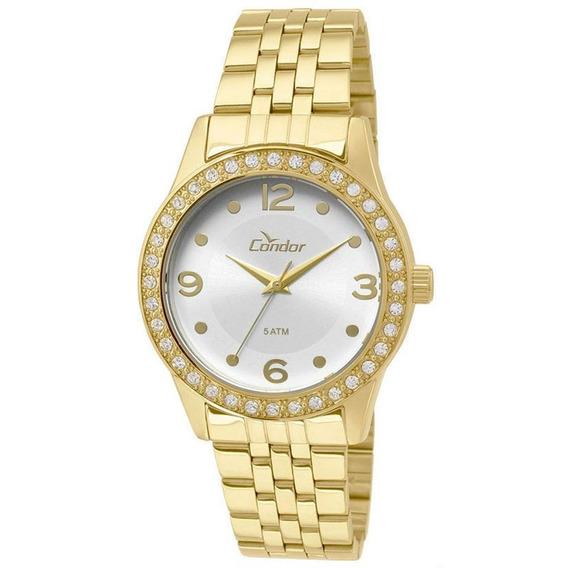 Relógio Condor Feminino Braceletes Co2035koy/4k - Dourado