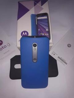 Celular Motog3 3ª Ge Xt1544 Tv 4g Dual 16gb Vitrine Na Caixa