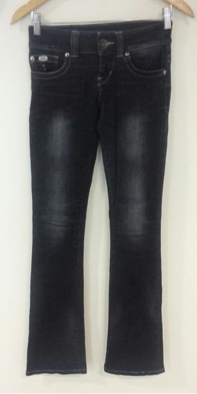 Pantalón Denim Azul Negro Guess Talle 24 Pantalón Denim Azul