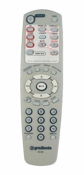 Controle Remoto P/ Som Gradiente Asm-550/570 Ga-400 Original