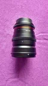 Lente Rokinon 24mm T1.5 - Canon Ef Cine Full Frame