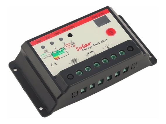 Controlador De Carga Painel Solar Painel 12v/24v 20a Ysmart