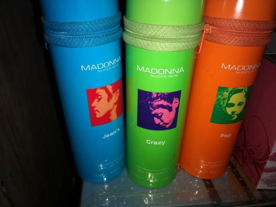 Perfume Madonna Nude 3 Latas Com Os Frascos