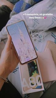 Celular Sansung Galaxy A80 Duos 128gb Angel Gold
