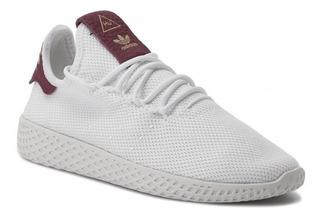 Adidas Pharrell x adidas Tennis Hu Blanco Amarillo | BY2674