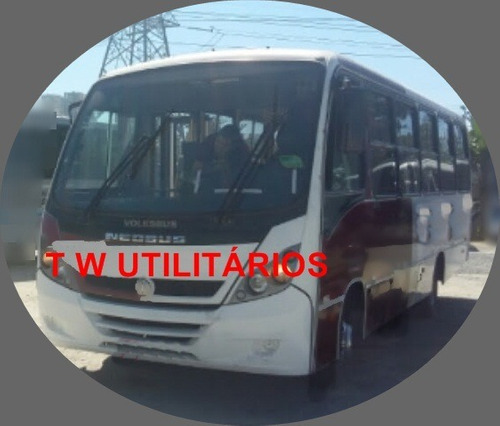 Micro Onibus Thunder + 9.150 Ano 2011 Motor Cummis