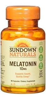 Naturals Ocaso Melatonina 10 Mg, 90 Cápsulas