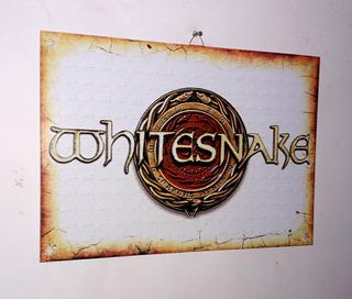 Cuadros De Chapa - Retro - Whitesnake