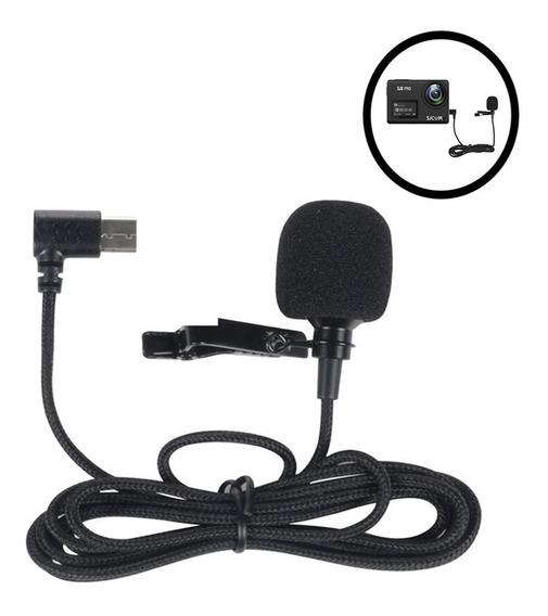Microfone Externo De Sjcam Sj8 Air Plus Pro Type-c Original
