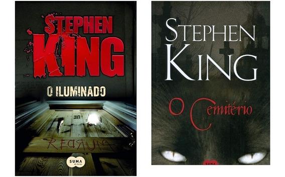 Kit - O Iluminado+o Cemitério+ Misery Stephen King
