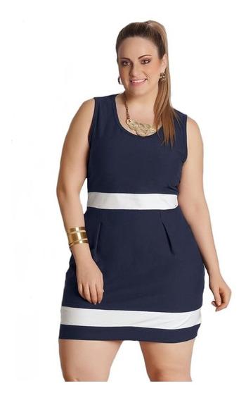 Vestido Plus Size Sem Mangas Tamanho Grande Roupas Femininas